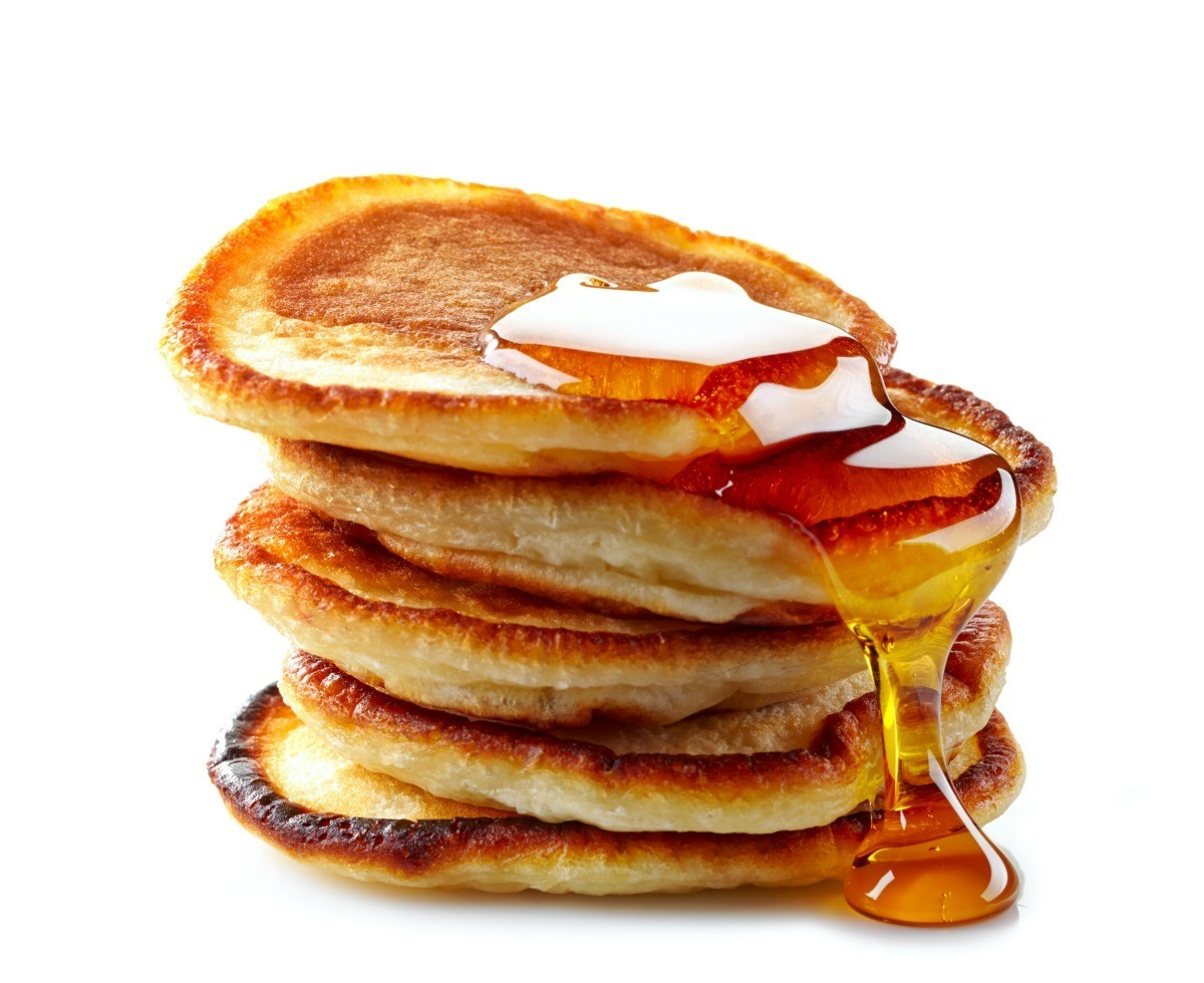 Stack Of Pancakes For Breakfast