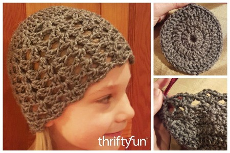 Making a Girl's Fan Patterned Crochet Hat