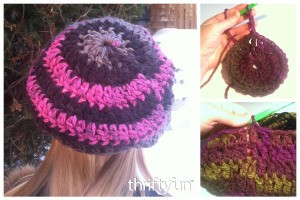 Making a Child's Crocheted Beret