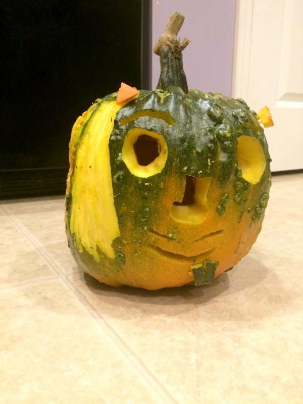 Monster Jack-O-Lanterns