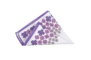 A pretty handkerchief.