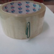 Mark the end of the roll of tape with a paper clip.