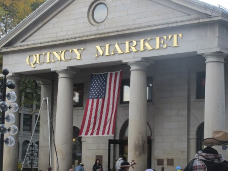Quincy Market building near Boston.