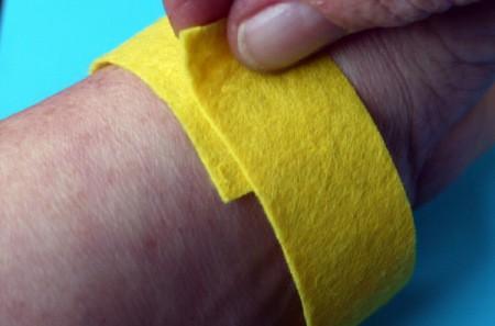 Felt Wristband