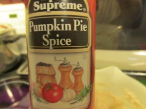 Add Pumpkin Spice to Pancakes and Syrup