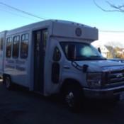 small bus style passenger van