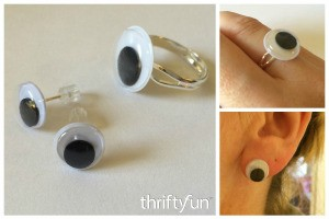 Making Googly Eye Jewelry