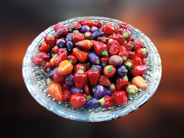 Loco peppers on a plate