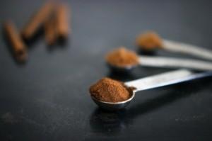Pumpkin Spice in Measuring Spoon
