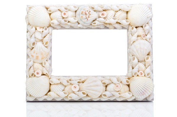 Making A Seashell Picture Frame Thriftyfun