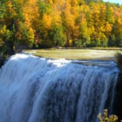 Falling Waters at Letchworth State Park (NY)