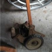old American Brand mower