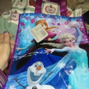 Fill Plastic Gift Bags for Christmas Gifts