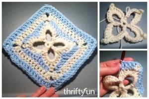 Spring Fling Crochet Square Pattern