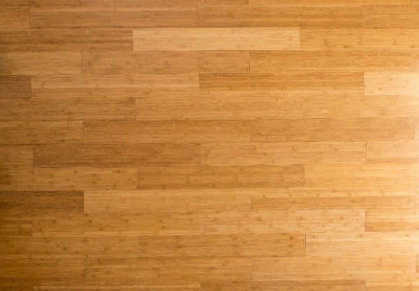 photo of a bamboo floor