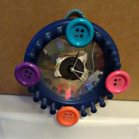 closeup of the clock