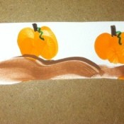 thumbprint pumpkin patch