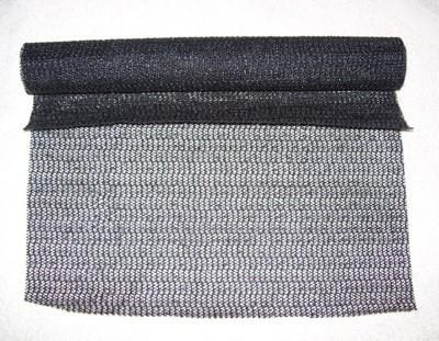 roll of spongy shelf lining material