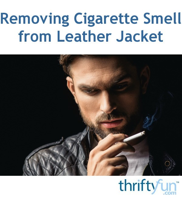 how to get nicotine smell out of leather furniture