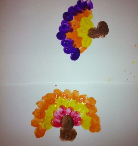 Thumbprint Turkey