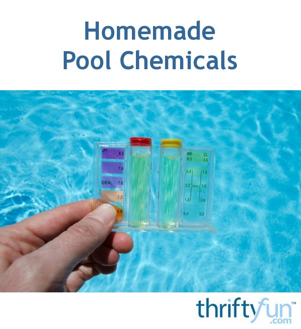 Homemade Pool Chemicals | ThriftyFun