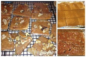Making Toffee Crunch Grahams