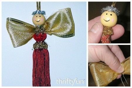 Tassel Angel Ornament