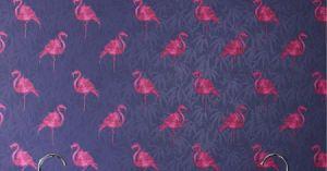 Graham & Brown Purple Flamingo Wallpaper