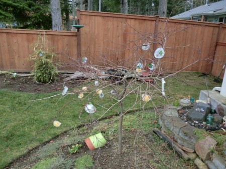 Outdoor Ice Ornaments