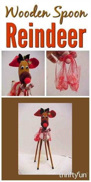 Wooden Spoon Reindeer Craft Thriftyfun