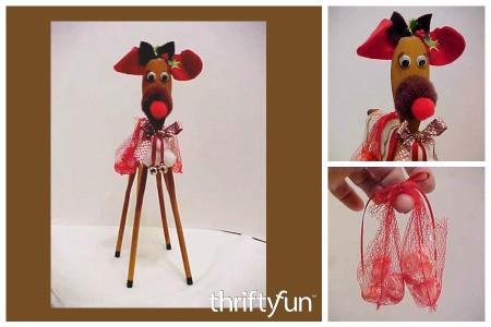 Wooden Spoon Reindeer Craft