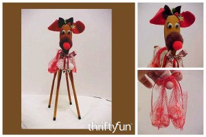 Wooden Spoon Reindeer Craft