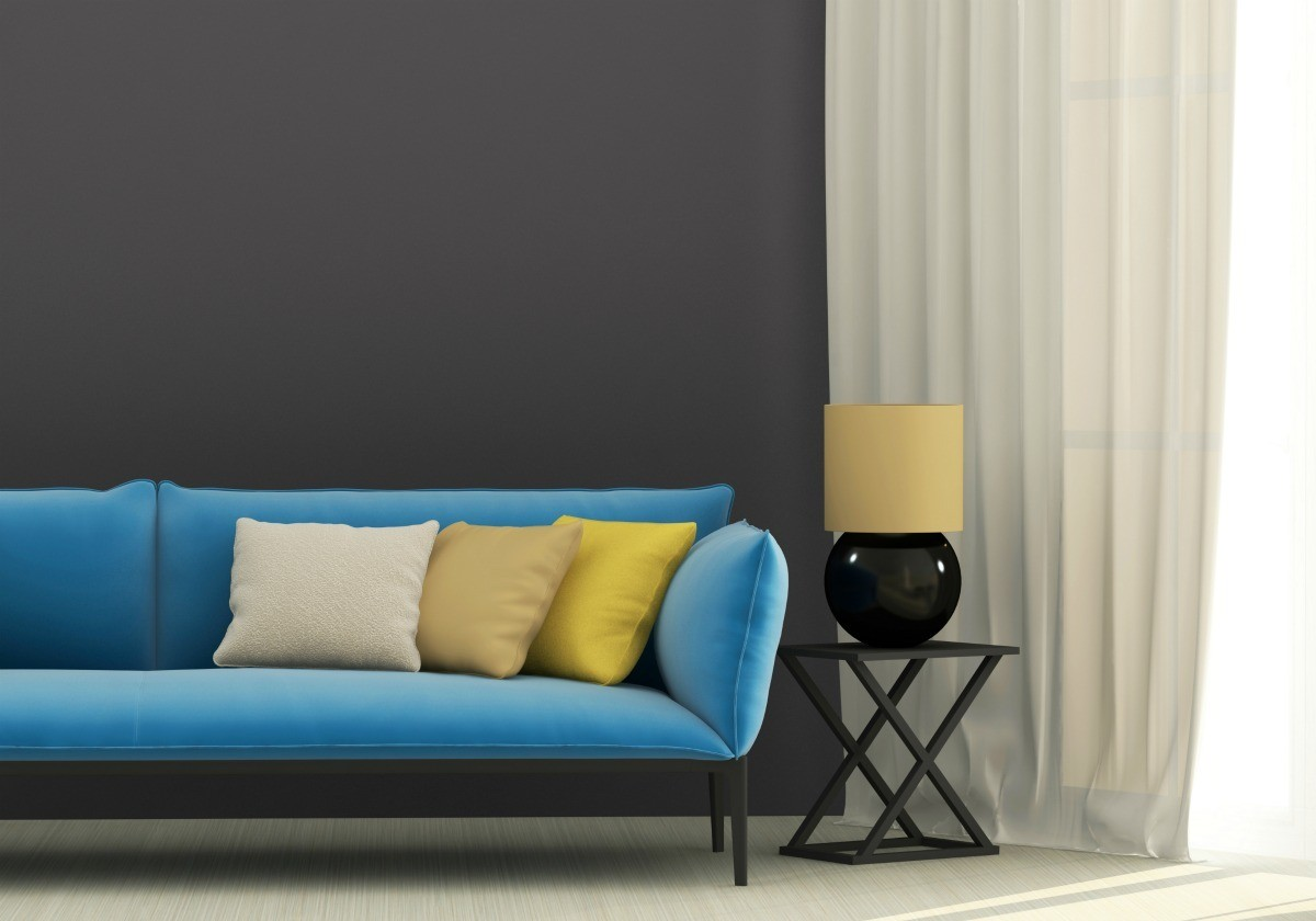 Paint Color To Coordinate With Blue Furniture