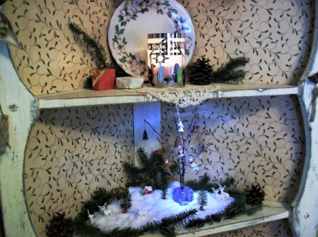Miniature Christmas Display