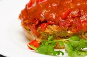 A salsa meatloaf.