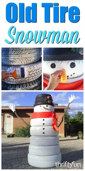 making a tire snowman thriftyfun. Black Bedroom Furniture Sets. Home Design Ideas