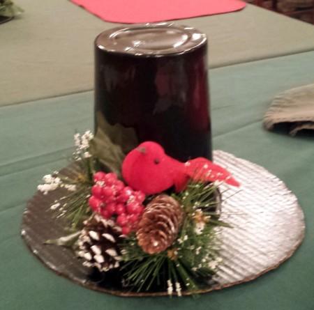 Decorative Top hat Table Decorations