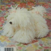 Shaggy Dog Out of Yarn