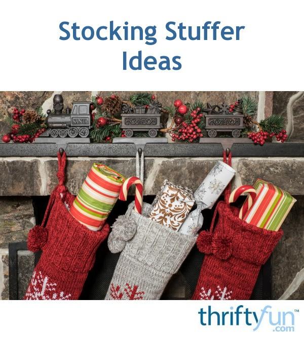 Stocking Stuffer Ideas   ThriftyFun