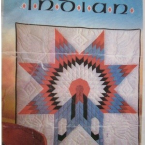 """""""Indian War Bonnet"""" Quilt Pattern"""