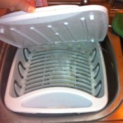Removing Mold from Dish Drainer