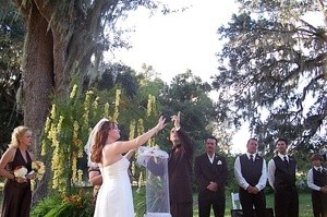 Wedding Butterfly Release In Honor Of Willow