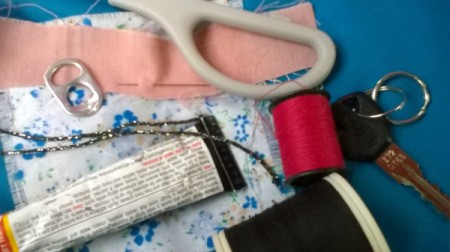 supplies for making key fob