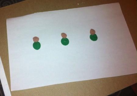 head and body of fingerprint elves