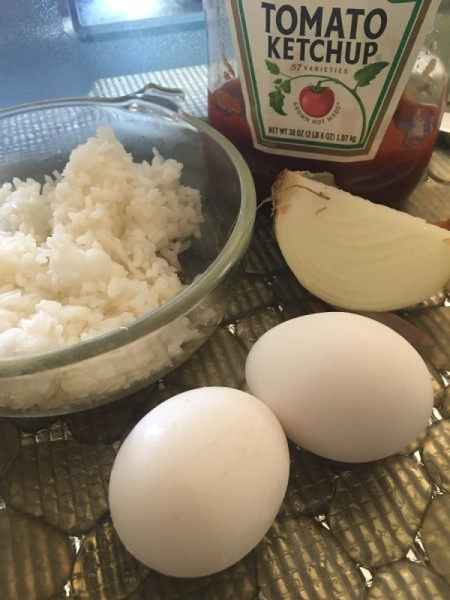 ingredients for omurice