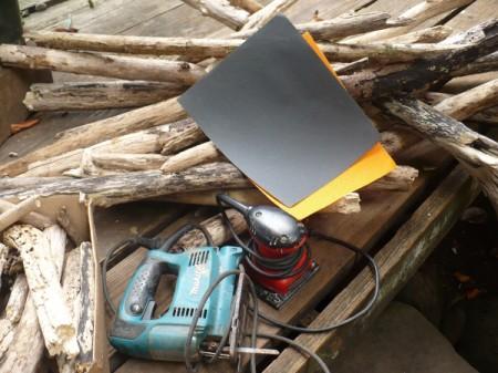 Driftwood Christmas Tree - supplies