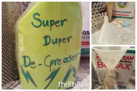 Super Duper De-Greaser