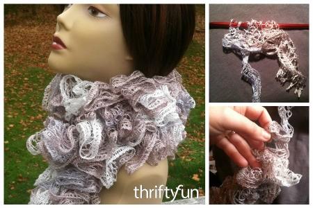 Easy Crochet Sashay Scarf