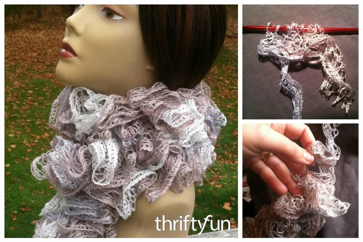Easy Crochet Sashay Scarf Thriftyfun