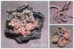 Making a Crocheted Flower